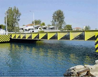 Submersible Bridges Bridge Canal Corinth Mobile Temporary