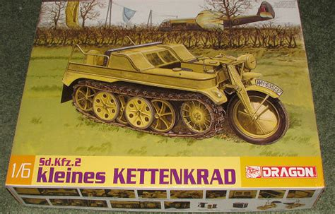 dragon  sdkfz kettenkrad previewed  scott van aken