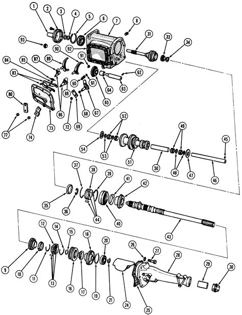 Plymouth Transmission Diagram by Repair Guides Manual Transmission Overdrive 4