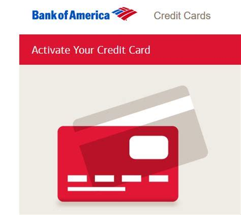 Once you have an account, log in and enter all of your card. Bank Of America Card Activation   www.bankofamerica.com/activate