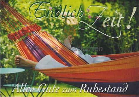 Ruhestand  Postkarten Grußkarten