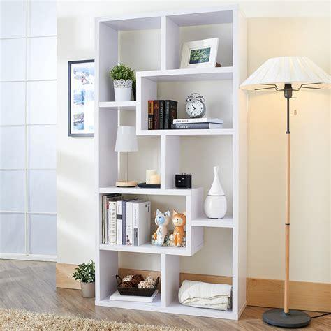 Bookshelf Amazing Modern White Bookshelf Modern Wall