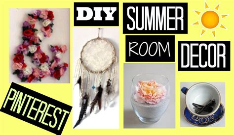 Diy Summer Room Decor // Pinterest