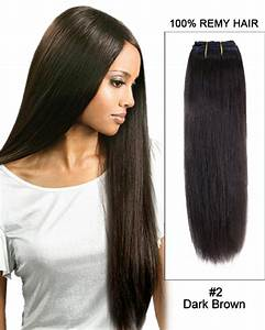 Dark Brown Extensions Human Hair - Prices Of Remy Hair