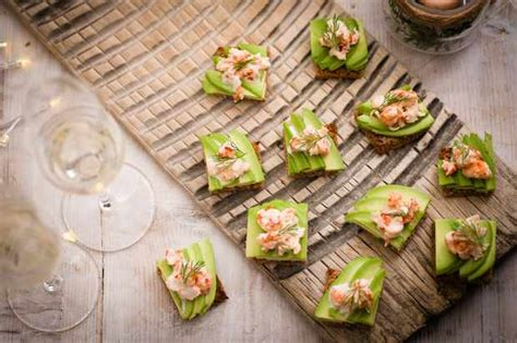 22 easy canapes recipes for food