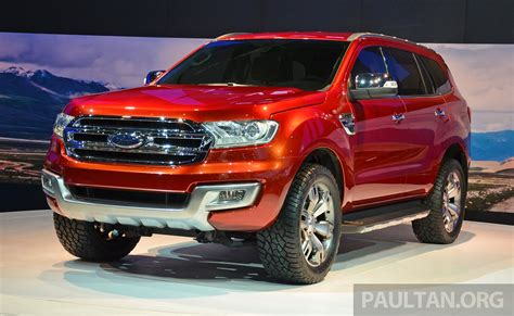 Ford Everest Concept Unveiled At 2018 Bangkok Motor Show