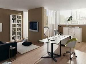 Ideas comfortable den office design ideas wooden for Den office ideas