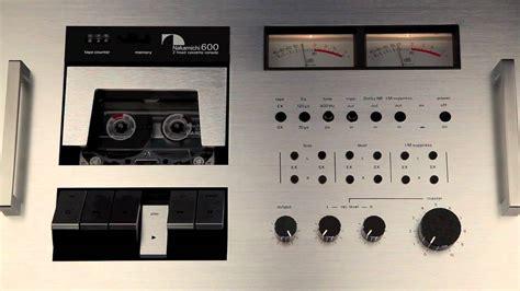 nakamichi 600 cassette deck nakamichi 600 cassette deck playback test