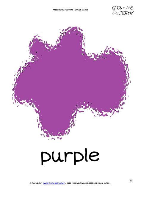 color card purple