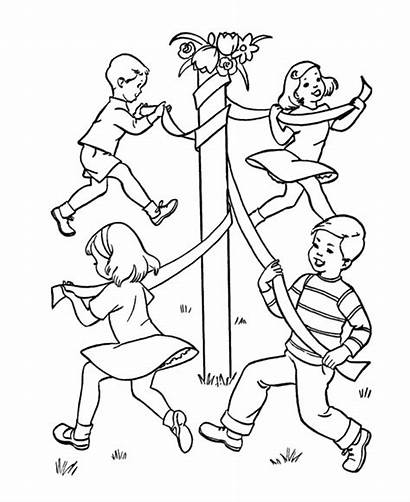 Coloring Games Birthday Sheets Colouring Pages Dance