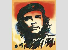Che Guevara Stylised Modern Drawing Art Sketch Drawing by