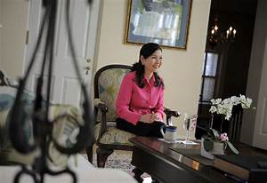 Maryland's first lady Yumi Hogan, a sumi ink artist, takes ...