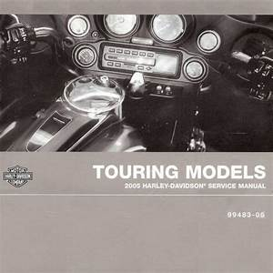 Sell 2005 Harley-davidson Touring Service Manual