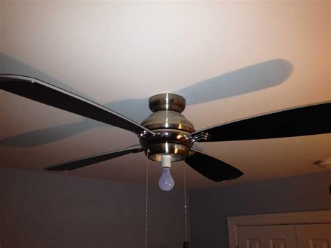 hton bay ceiling fan light globe replacement needed
