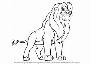 Learn How to Draw Simba from The Lion King (The Lion King ...