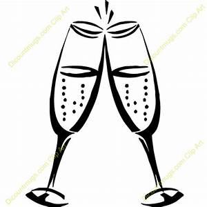 Wedding Champagne Glass Clipart | www.pixshark.com ...
