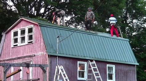 Barn Roofing by The Itsy Farm Barn Gets A New Roof