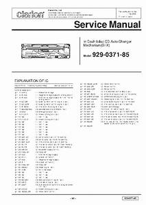Clarion Cmd4 Service Manual Free Download  Schematics  Eeprom  Repair Info For Electronics