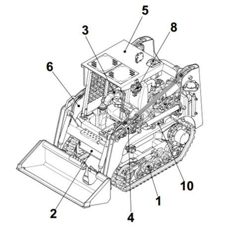 takeuchi tl crawler loader service repair manual  tradebit