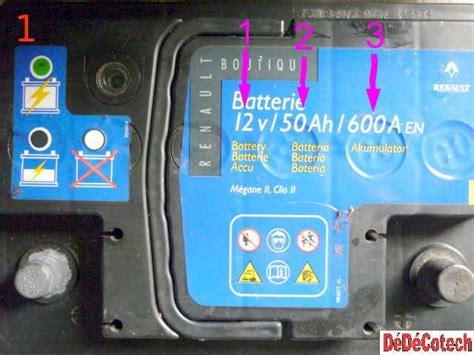nettoyer si鑒es voiture tester la batterie et la charge de l alternateur tuto