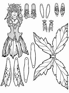 perrin fairy puppet With fairy cut out template