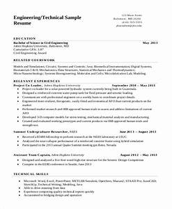 engineer resume template 7 engineering resume template