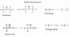 5 Draw The Electron Dot Structures For  A  Ethanoic Acid