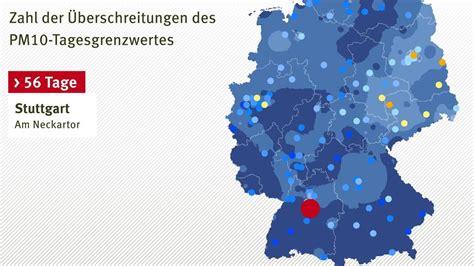 wo ist urlaub in deutschland am schönsten wo der feinstaub in deutschland am schlimmsten ist welt