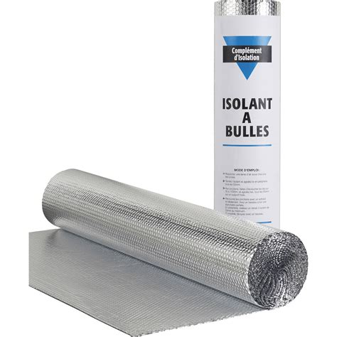 rouleau isolant thermique rouleau isolant mince 224 bulle actis 10 x 1 5 m ep 3 5 mm leroy merlin