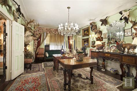 apartment guilfoyle kimberly park taxidermy animals central west fox animal host dropping jaw hunting head taxidermied million pad 6sqft interior