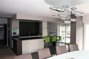 deco maison moderne interieur With idee deco interieur maison moderne