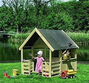 Kinder Holzhaus Garten : kinder spielhaus promadino moritz holzhaus mit veranda kaufen im holz online shop ~ Frokenaadalensverden.com Haus und Dekorationen
