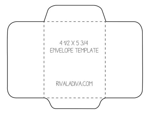 8 5 X 11 Envelope Template by Envelope Template Envelope Template For 8 5 X 11 Paper