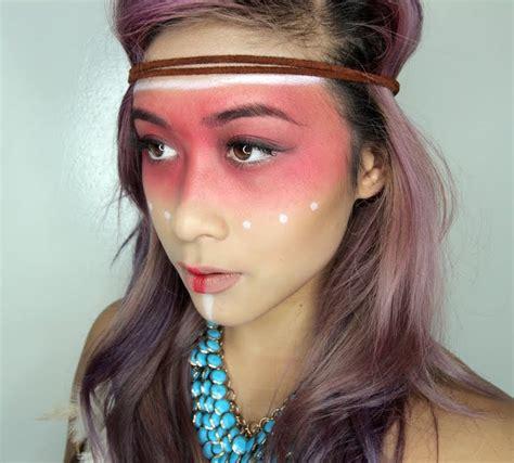 maquillage indienne d am 233 rique 40 id 233 es dict 233 es par la peinture de guerre