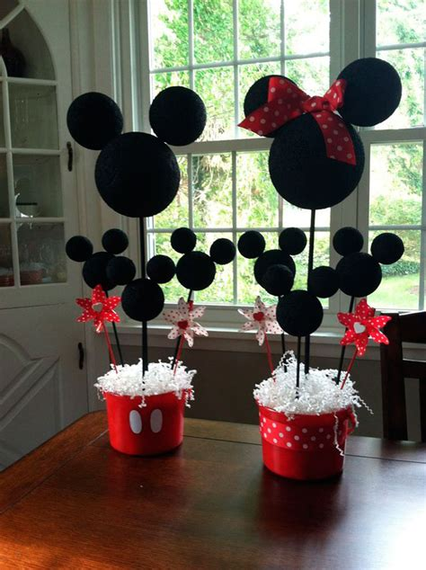 simple mickey mouse table decorations photograph 70 inspir