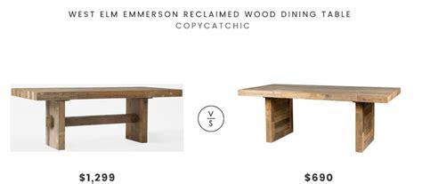 reclaimed elm dining table west elm emmerson reclaimed wood dining table look for 4529