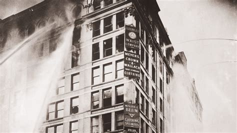 deadly triangle shirtwaist factory fire shocked