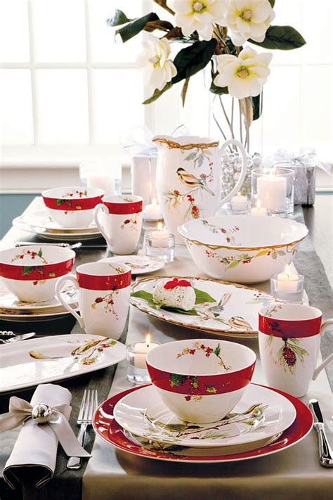 holiday dinnerware ideas  pinterest lenox