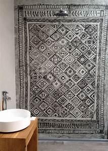 Fliesen Tapete Für Bad : wasserfeste tapete f r das bad bad pinterest tapeten b der und badezimmer ~ Markanthonyermac.com Haus und Dekorationen
