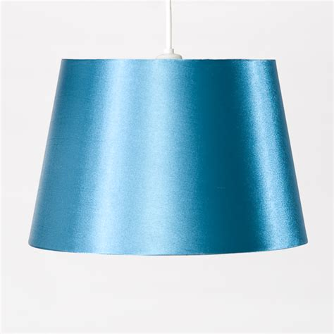teal and white l shade faux satin teal shade harry corry limited
