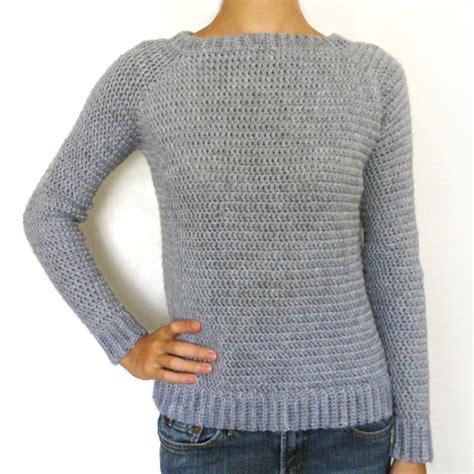how to crochet a sweater crochet spot