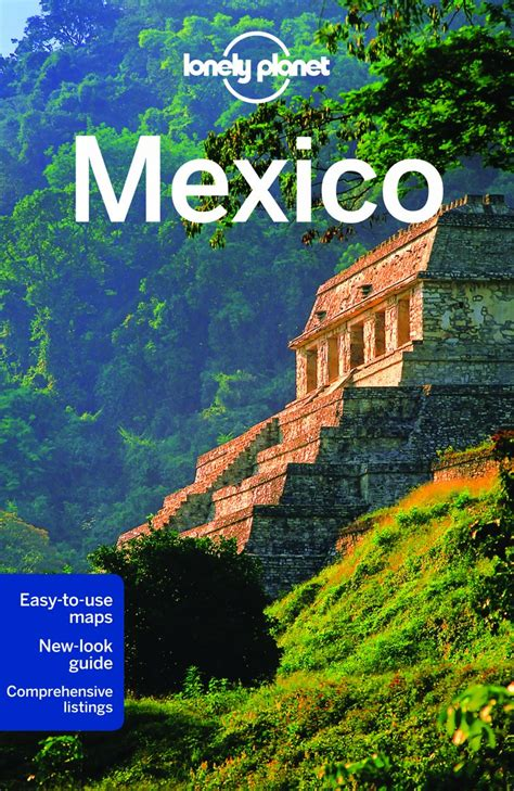 travel bureau mexico map lonely planet