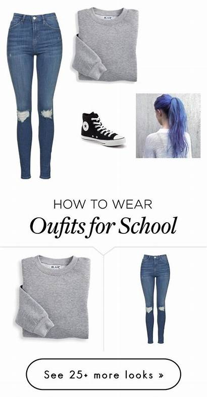 Outfits Wear Polyvore College Cold Teens Fall