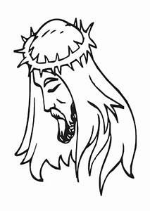 Ausmalbilder Jesus Mit Dornenkrone Jesus Malvorlagen