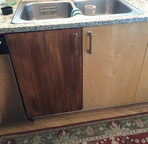 Vintage Refined   Gel Staining Kitchen Cabinets