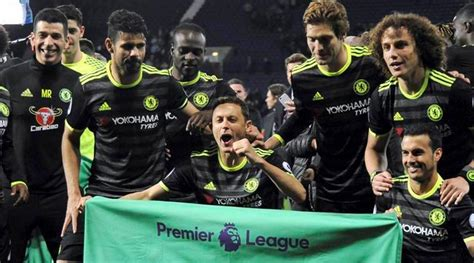 'Champions' Chelsea's celebrations after winning Premier ...
