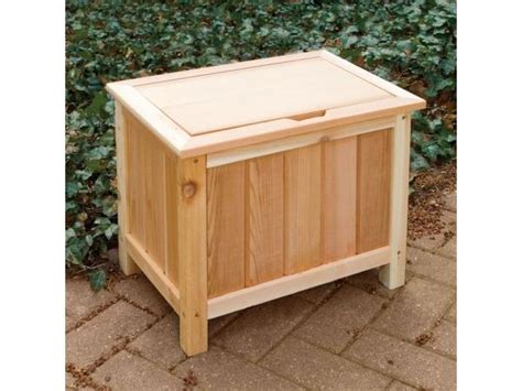 wooden outdoor storage box 127x56x60cm outdoor storage