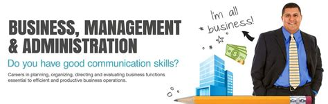 business management administration lake techs career