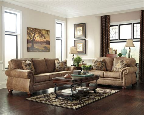 larkinhurst earth living room set  ashley