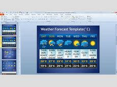 Free Weather Forecast PowerPoint Template Free